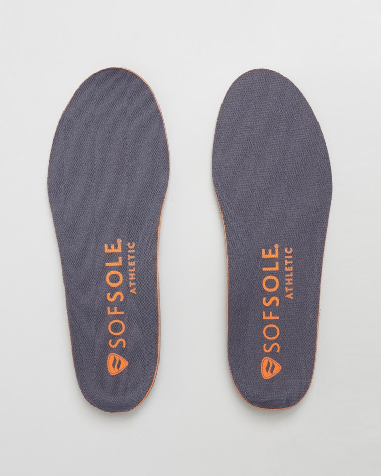 SofSole Athletic Insoles Men's Slippers & Accessories Grey