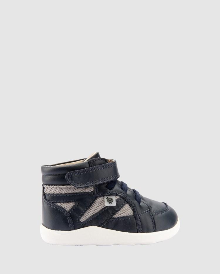 Old Soles Shizam Hi Sneakers Navy/Light Grey