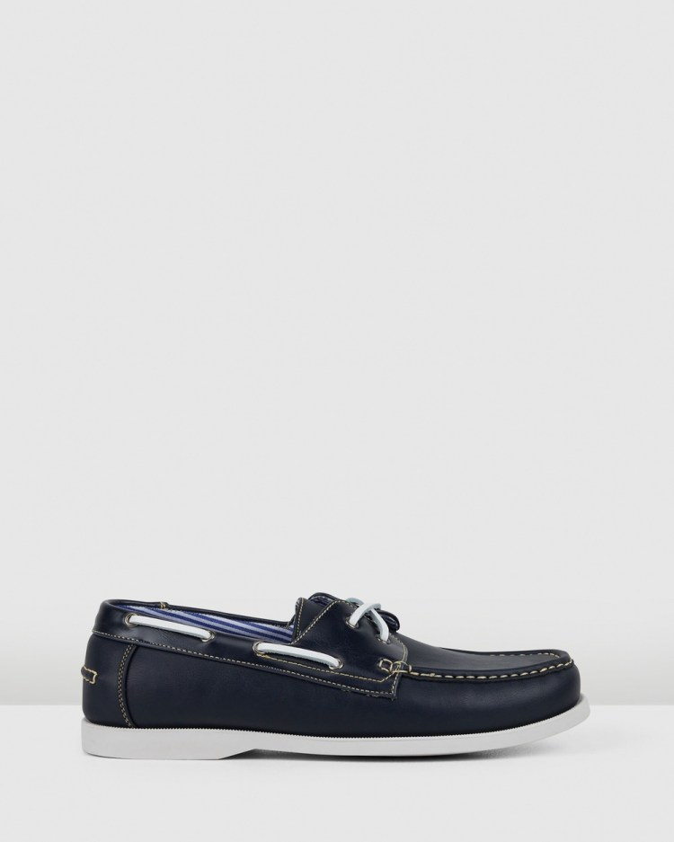 JM Alistair Casual Shoes Navy/Navy