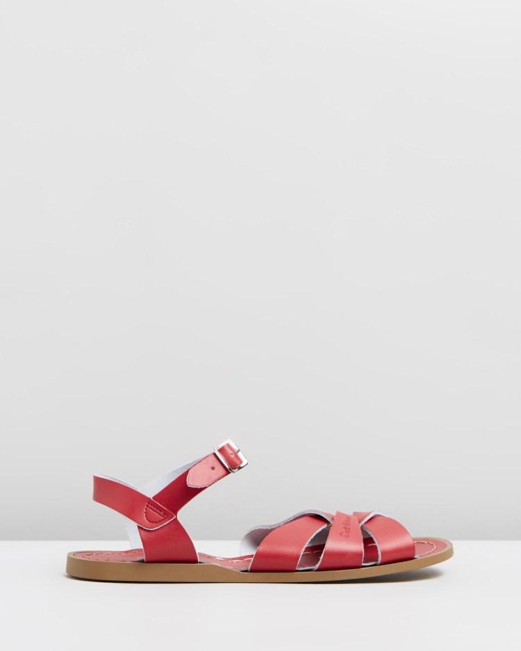 Saltwater Sandals Womens Original Red