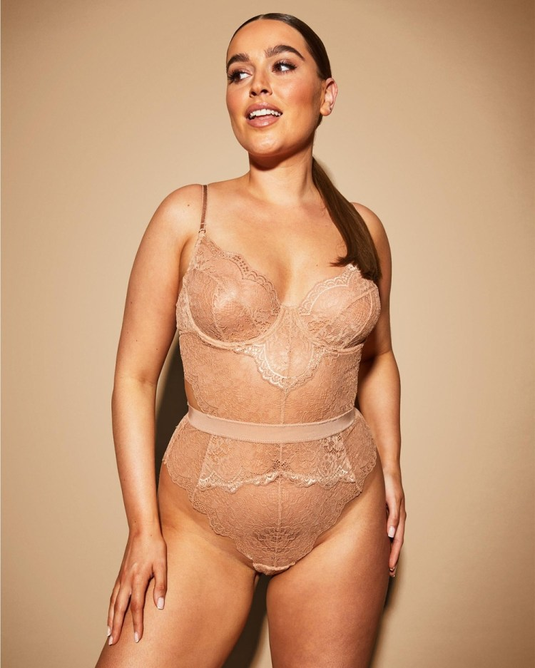 Ann Summers Birthday Suit Hold Me Tight Bodysuit Lingerie Nude 1