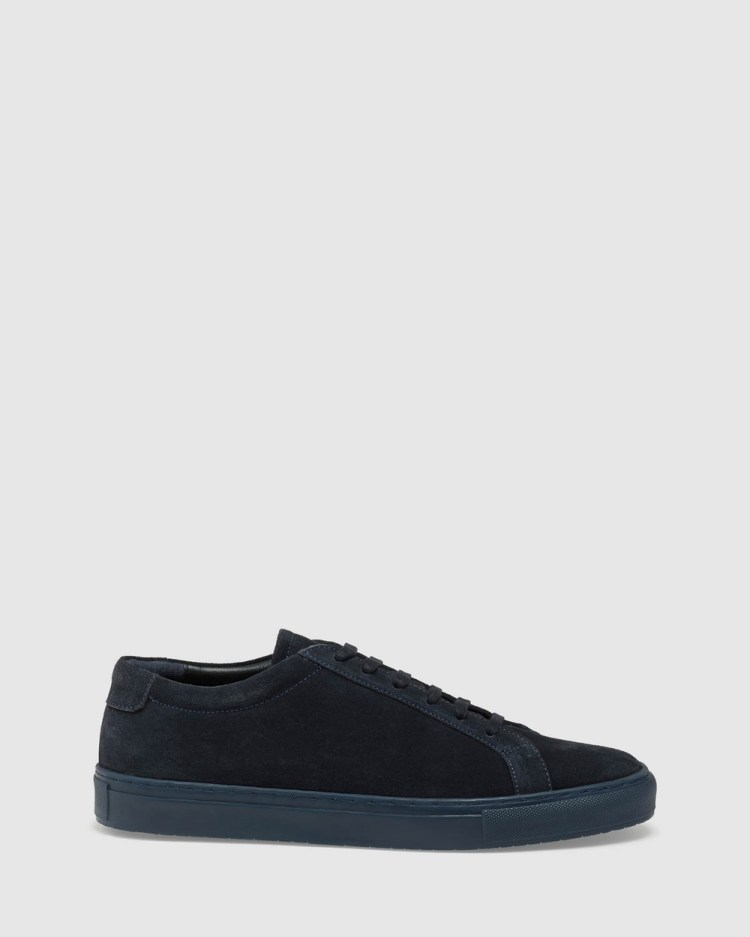Oxford Jonas Trainers Lifestyle Sneakers Blue