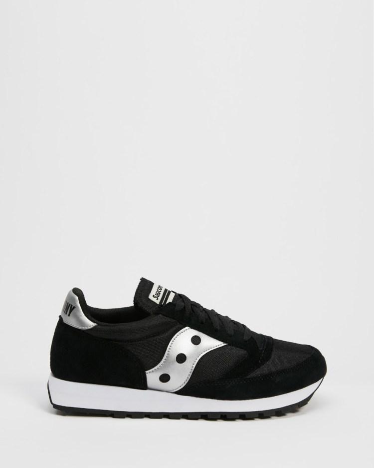 Saucony JAZZ 81 Unisex Lifestyle Sneakers Black & Silver