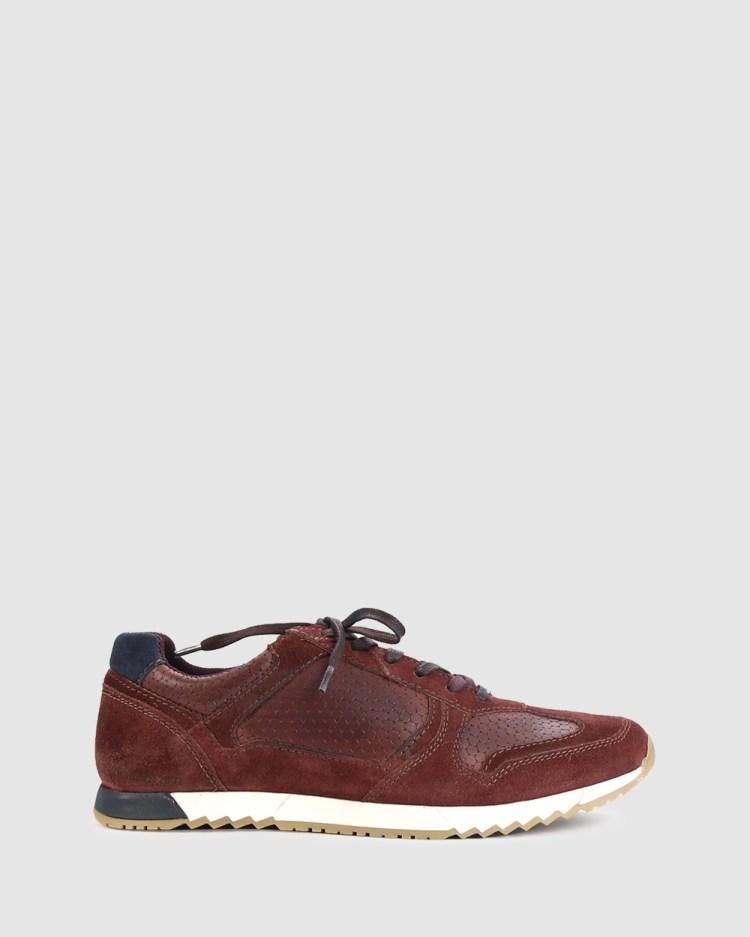Acton Jones Lifestyle Sneakers Red-Purple