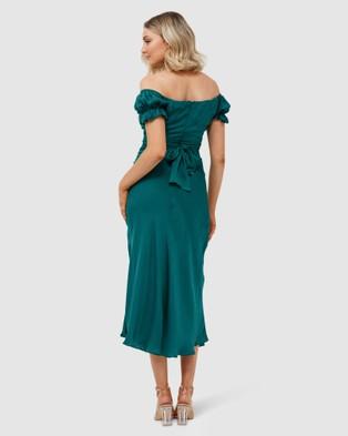Pilgrim - Selena Midi Dress - Bridesmaid Dresses (Emerald) Selena Midi Dress