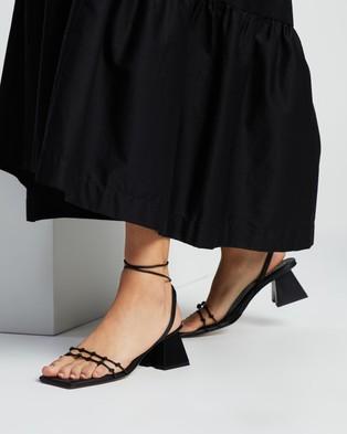 Alohas Sandals Juniper Black