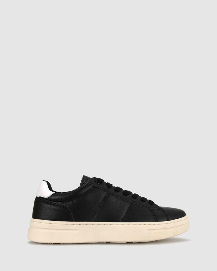 Zeroe Bear Lifestyle Shoes Sneakers Black
