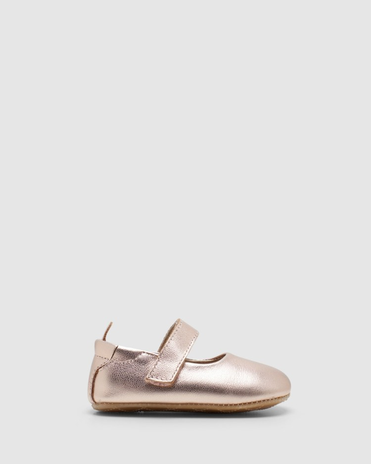 Old Soles Gabrielle Mary Jane Flats Copper