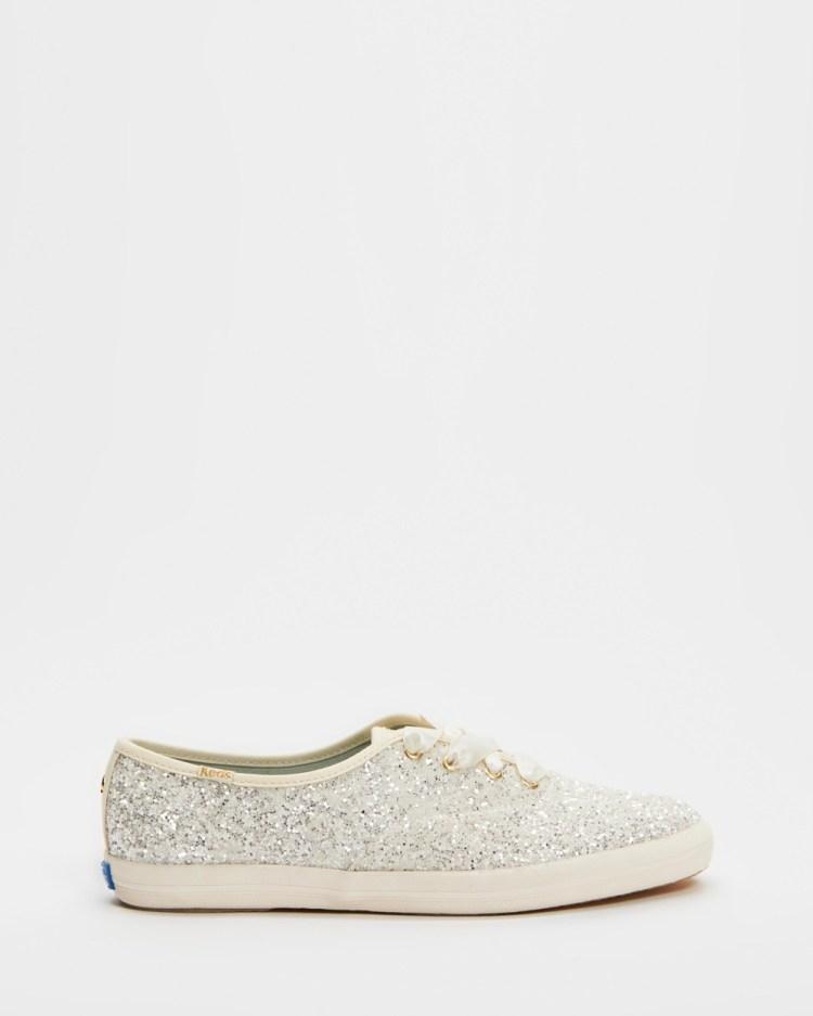 Keds Kate Spade X Champion Glitter Sneakers Cream
