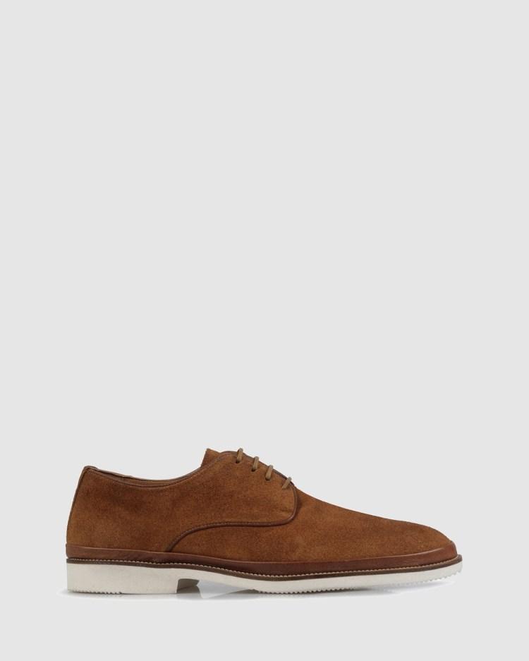 Brando Kelvin Lace Ups Casual Shoes TAN-240
