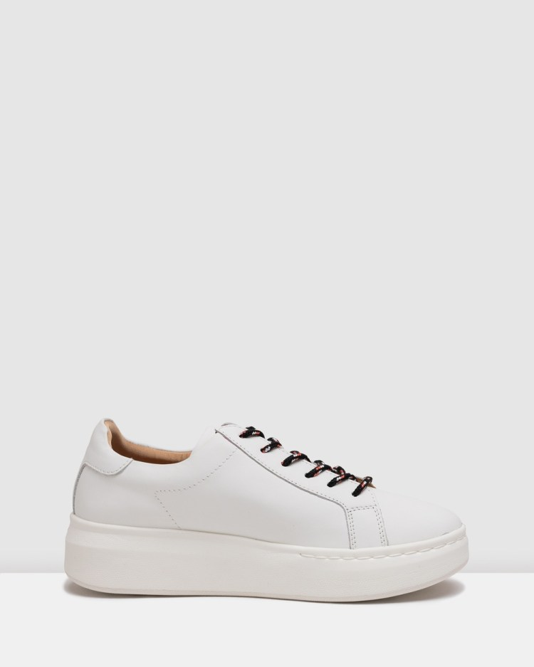 Rollie City Sneakers White