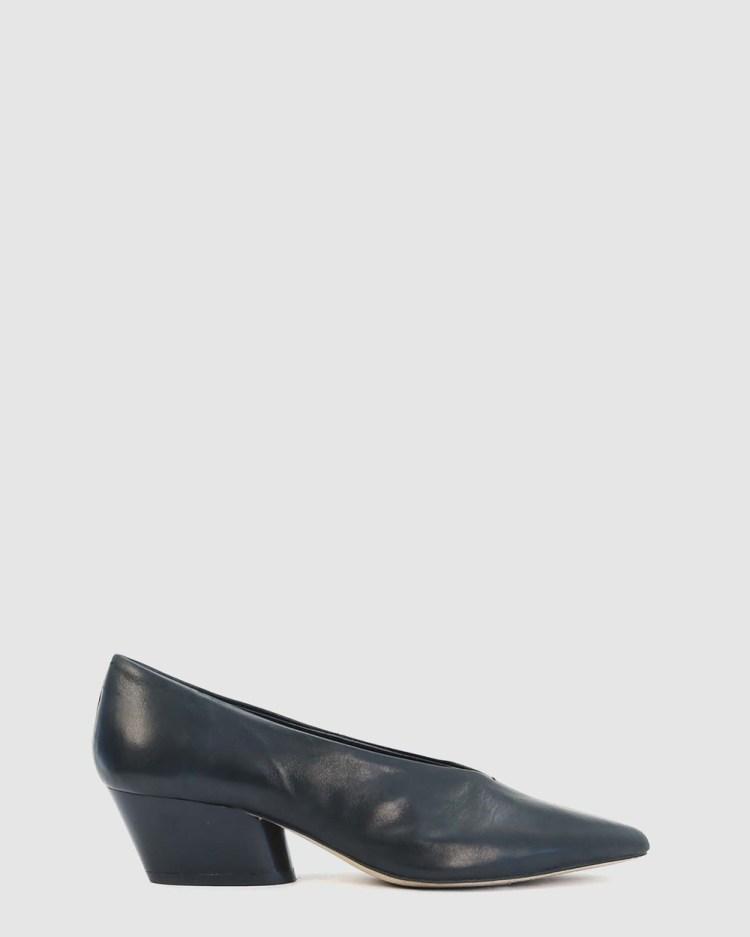 Eos Hard Mid-low heels black
