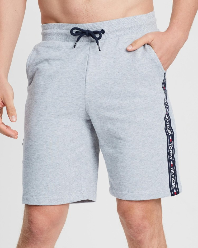 Tommy Hilfiger Authentic Logo Tape Shorts Accessories Grey Heather