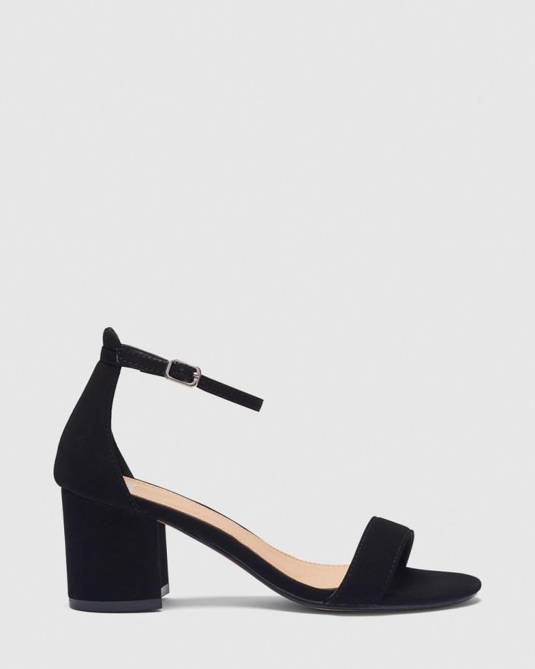 Novo Ushaa Heels Black