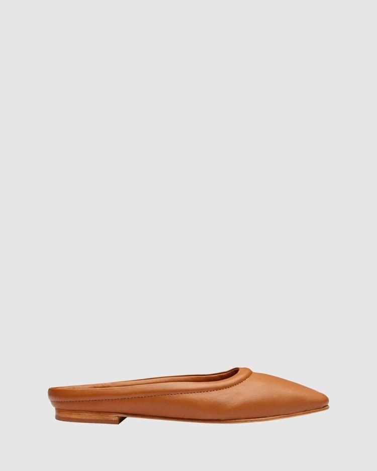 Sol Sana Hally Slides Ballet Flats Toffee