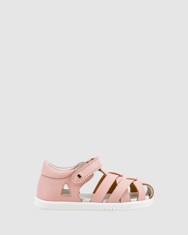 Bobux Iwalk QD Tropicana Cage II Sandals Seashell