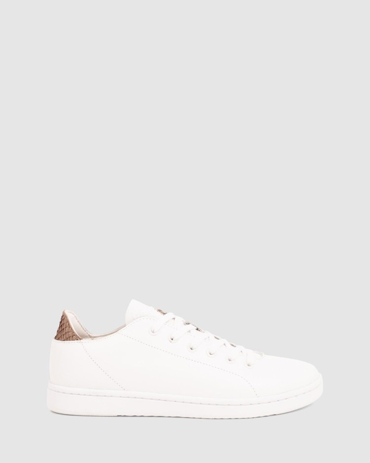 Woden Jane Leather II Lifestyle Sneakers White