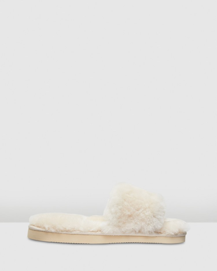 Hush Puppies Lust Slippers & Accessories Natural
