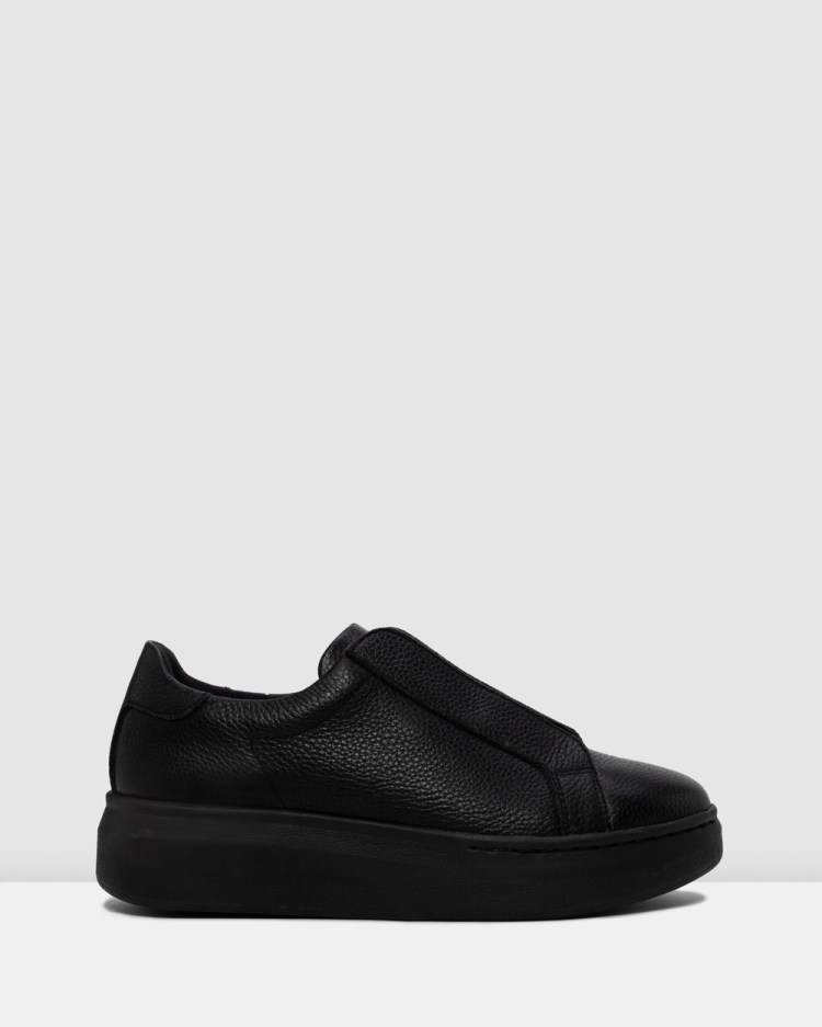 Rollie City Laceless Sneakers Lifestyle Black