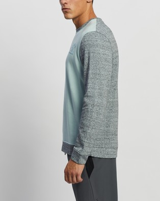 Under Armour Sportstyle Terry Crew Sweats Blue