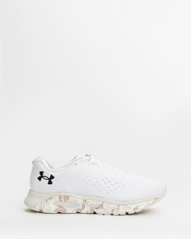Under Armour HOVR Infinite 3 Men's Performance Shoes Camo & White