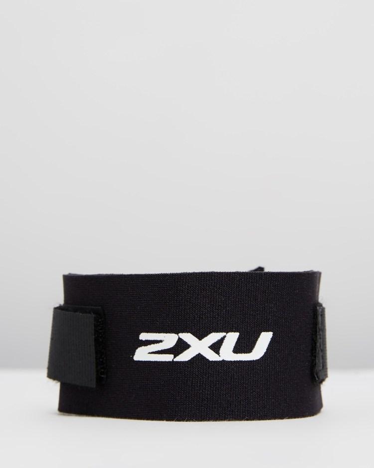 2XU Timing Chip Strap Running Black