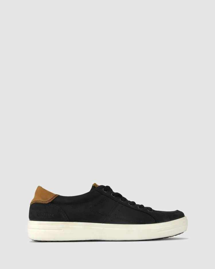Airflex Lance Leather Sneakers Lifestyle Black