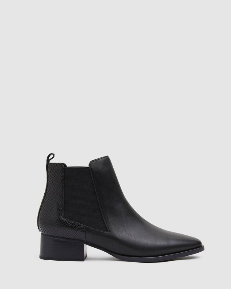 Jane Debster Decan Mid-low heels BLACK