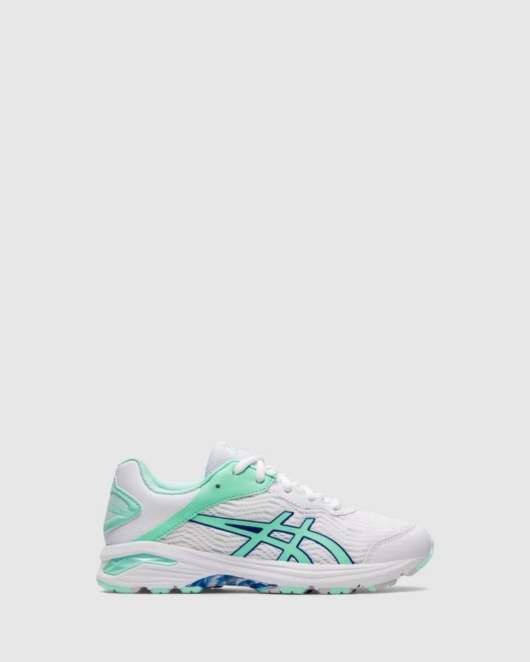 ASICS Netburner Pro 2 Grade School Lifestyle Shoes White/Ice