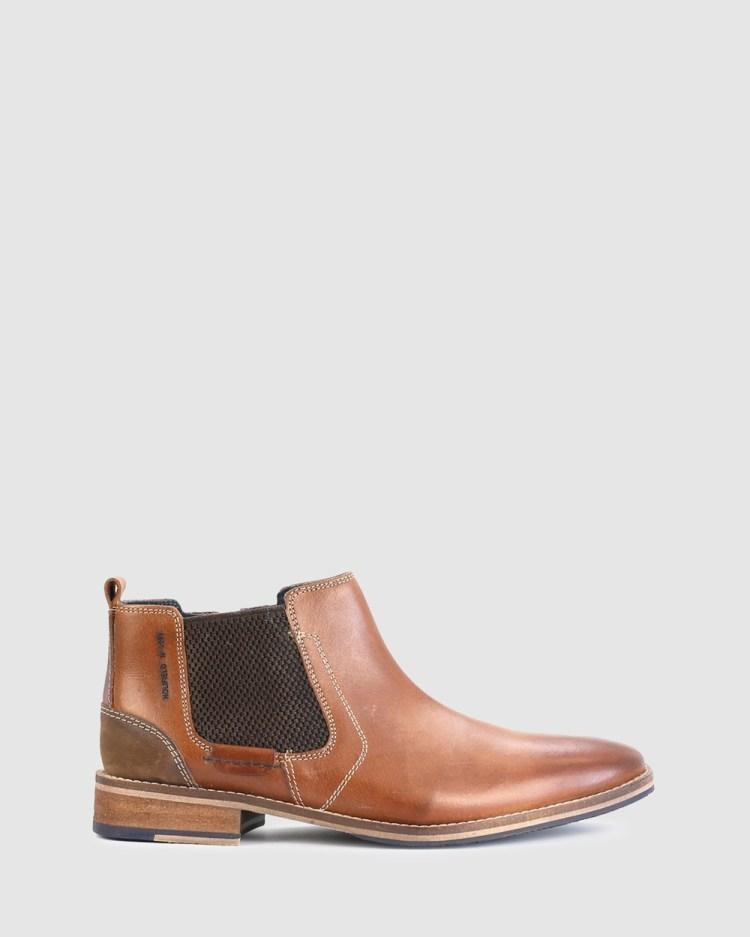 Acton Holifield Boots Brown
