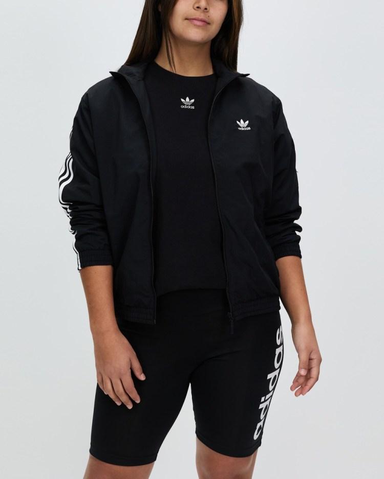 adidas Originals Track Top Coats & Jackets Black