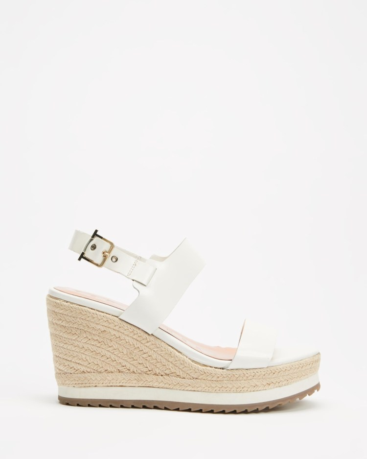 Ted Baker Archei Wedges White