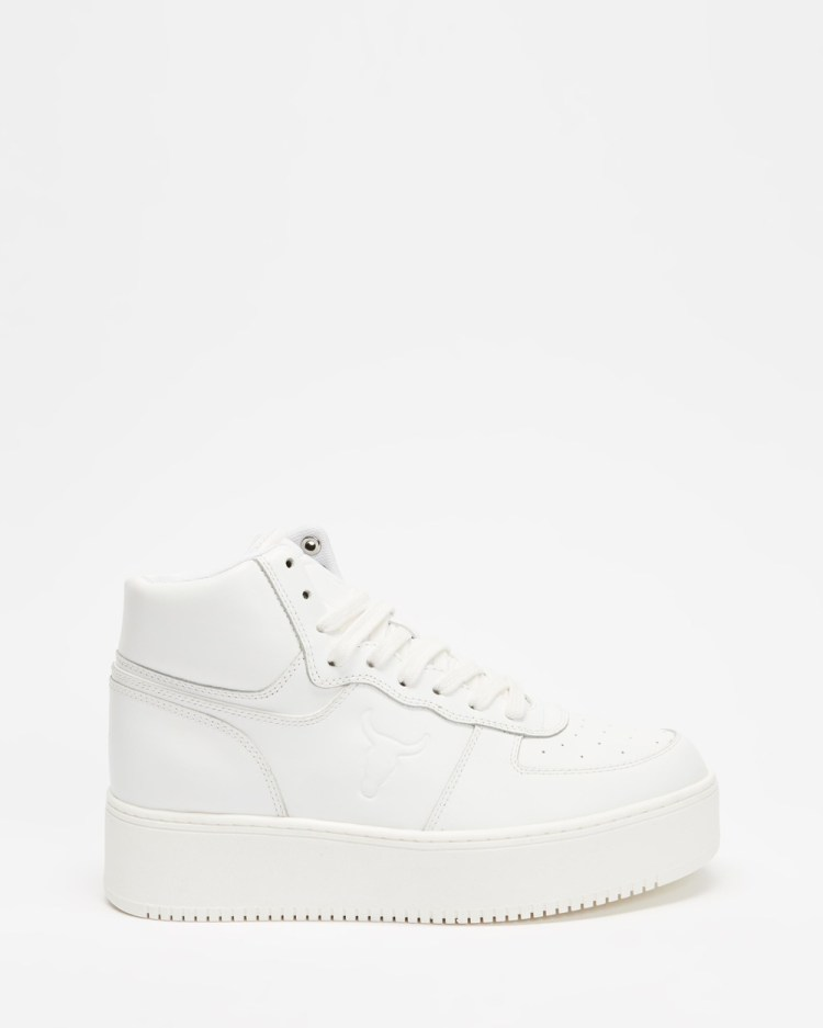 Windsor Smith Thrive Sneakers Women's White Leather