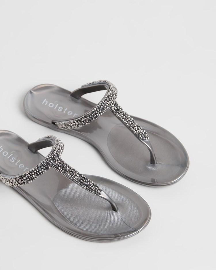 Holster Vienna Sandals Pewter