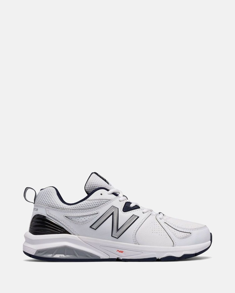 New Balance 857v2 X Wide Fit Men's Training White X-Wide
