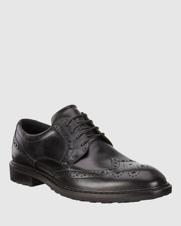 ECCO Vitrus I Mens Dress Shoes Black