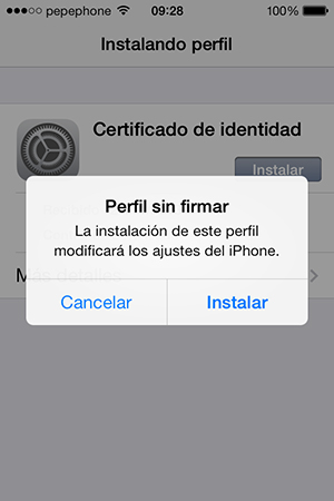 Como Instalar Certificado Digital iPhone iPad - Instalacion