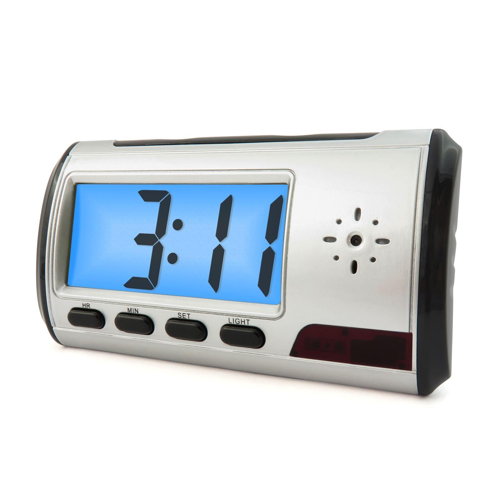 Spy Camera Alarm Clock Mini Video Recorder Hidden Nanny