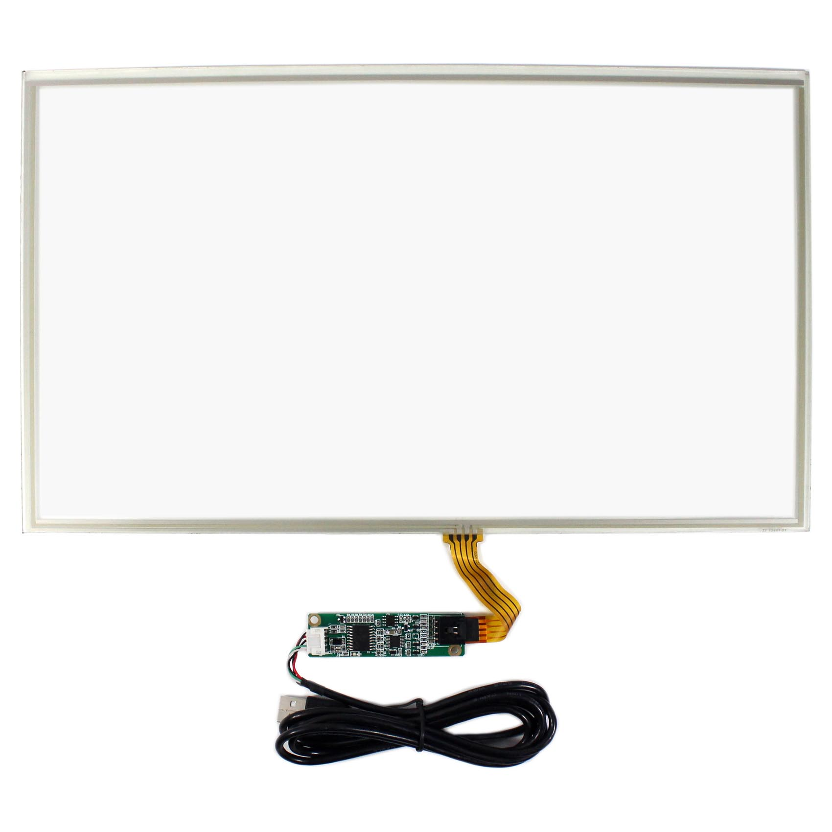 15 6 4 Wire Resistive Touch Panel Usb Controller For 15 6inch Lcd Screen