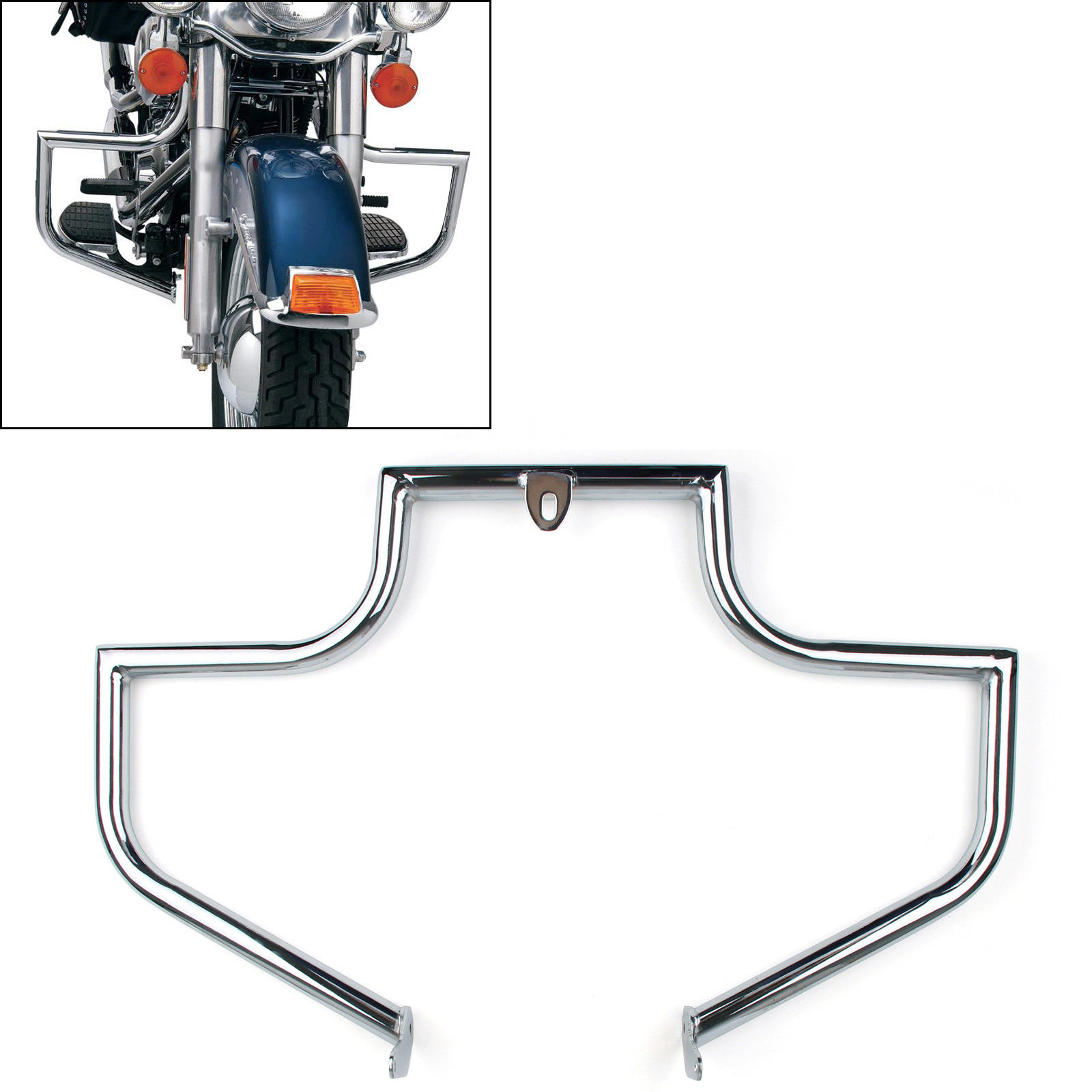 New Engine Guard Highway Crash Bar For Harley Softail