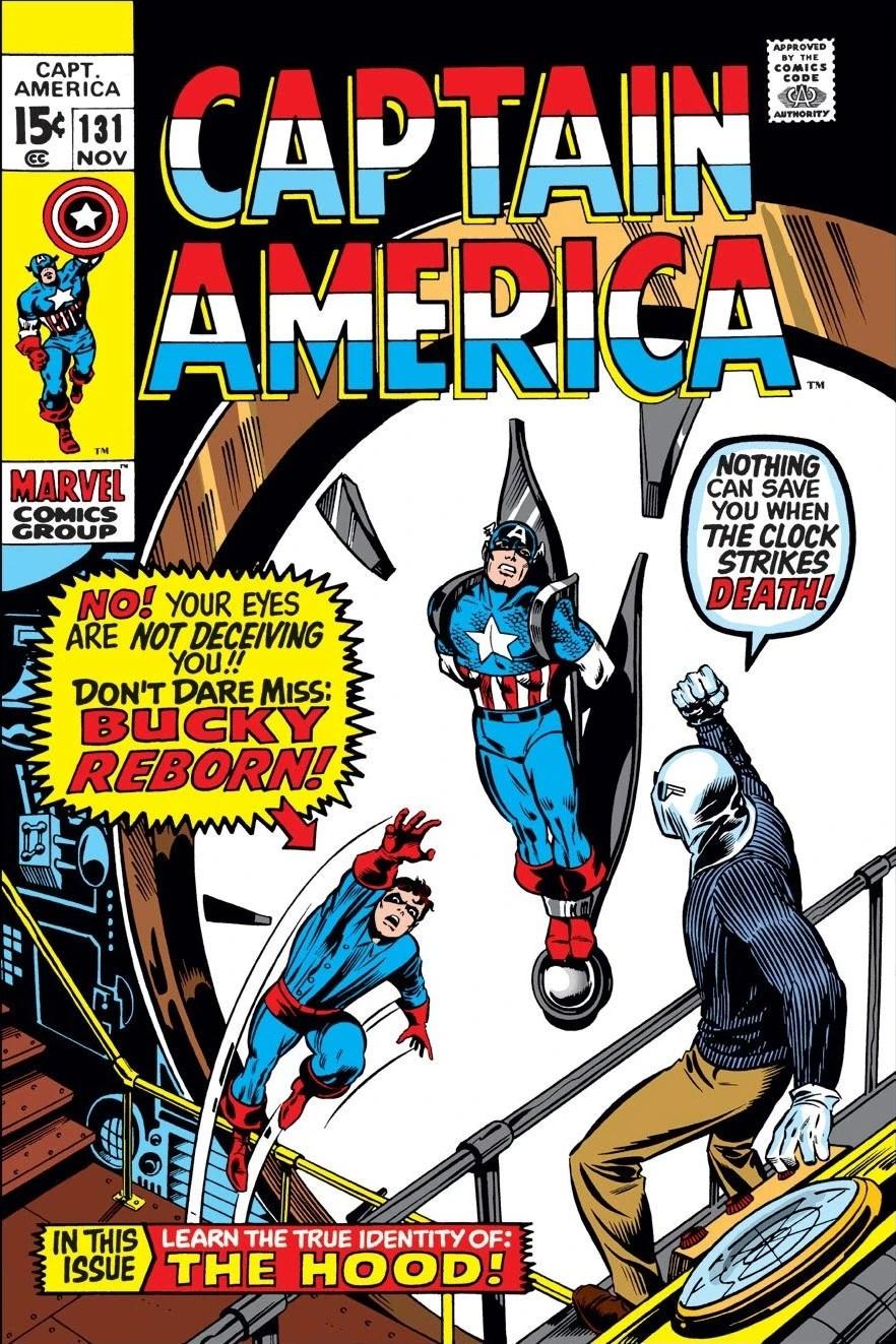 Captain America Vol 1 131 - Marvel Comics Database