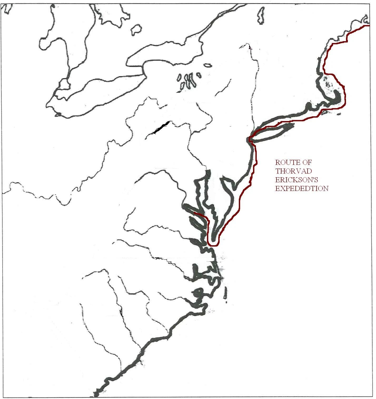 13 British Colonies Blank Map