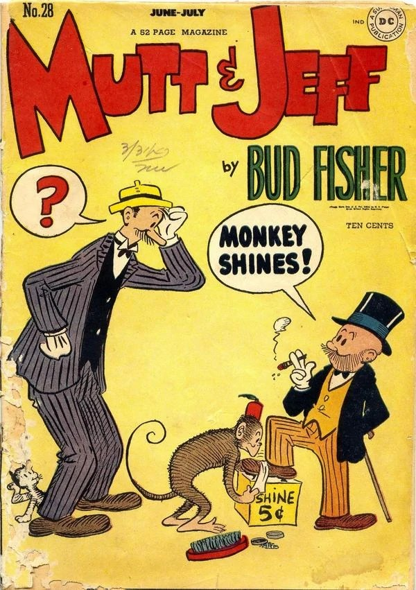 Mutt & Jeff Monkeyshines