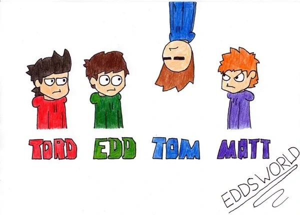 eddsworls colouring pages
