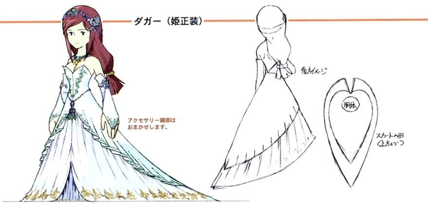 Image FFIX Garnet Designjpg The Final Fantasy Wiki