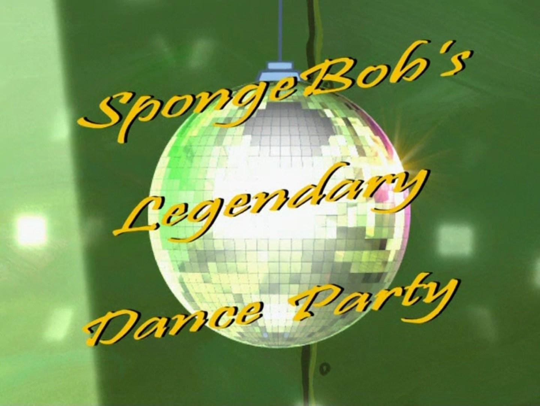 SpongeBobs Legendary Dance Party Encyclopedia