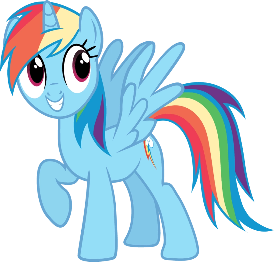 image fanmade pony request 160 alicorn rainbow dash by ah darnit png