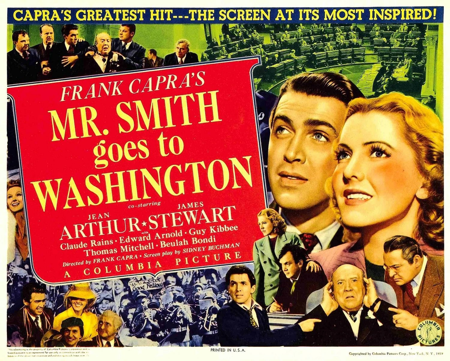 Image result for Mr. Smith Goes to Washington 1939