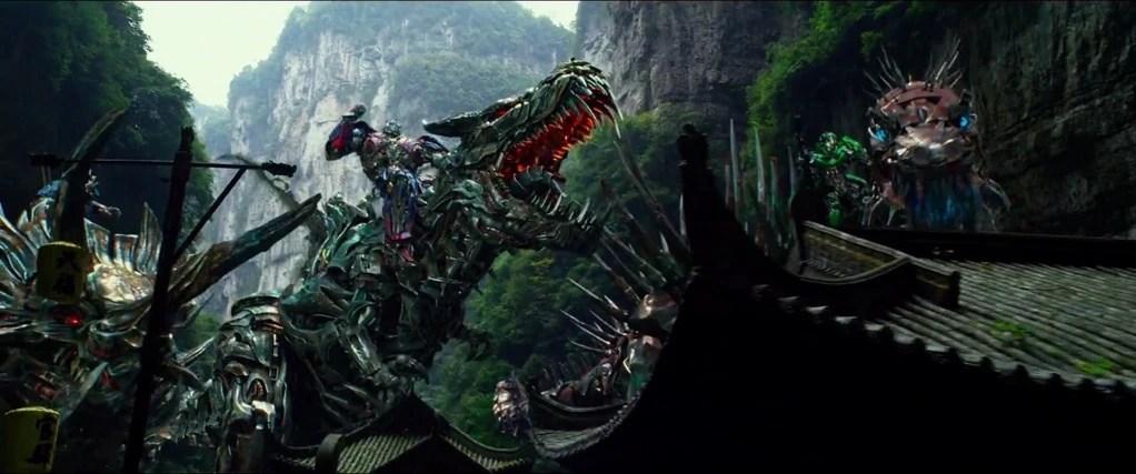 grimlock transformers 4 optimus prime riding car tuning