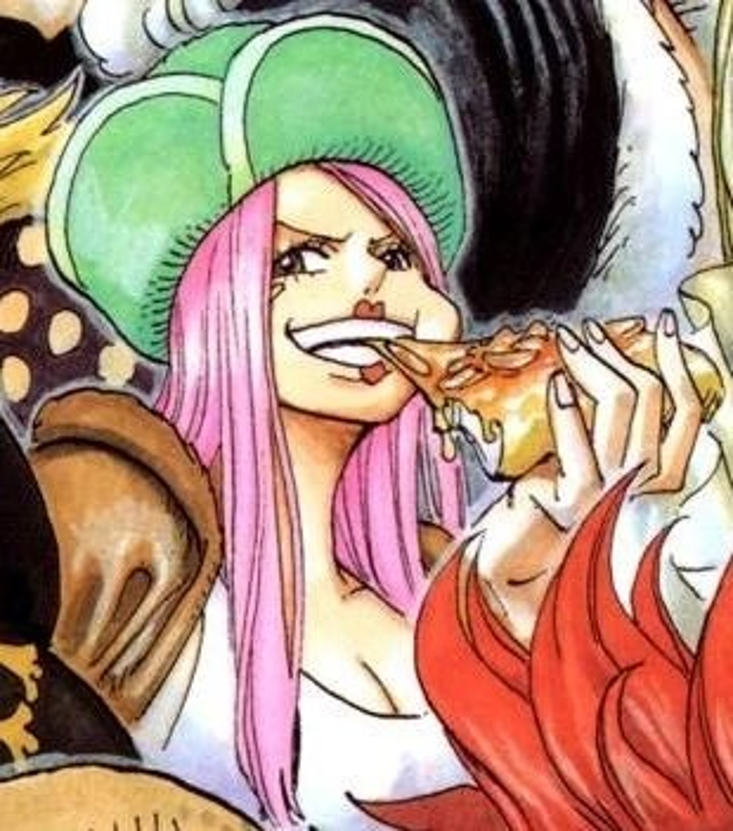Image Jewelry Bonneys Manga Color Scheme Pre Timeskip
